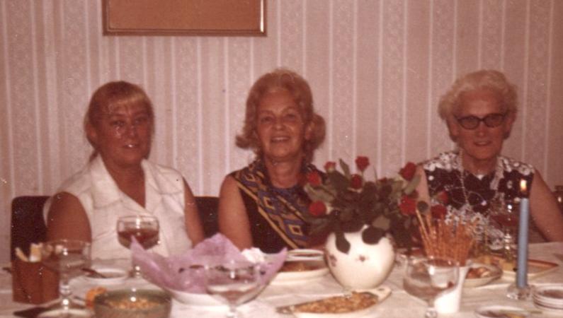 Friedels Fünfzigster 1972